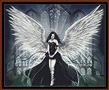 ANGEL 2 - Cross Stitch Chart / Pattern [ PDF on a CD ]