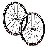 VUELTA 28 pollici bici da corsa set ruote bici Racetec JoyTech 622-13 nero