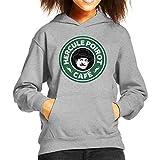 Best Starbucks Dad Gifts From Kids - Hercule Poirot Cafe Starbucks Logo Kid's Hooded Sweatshirt Review