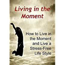 Living In The Moment: How to Live in the Moment and Live a Stress-Free Life Style: (Happiness, Morning Ritual, Tony Robbins, Echart Tolle) (English Edition)