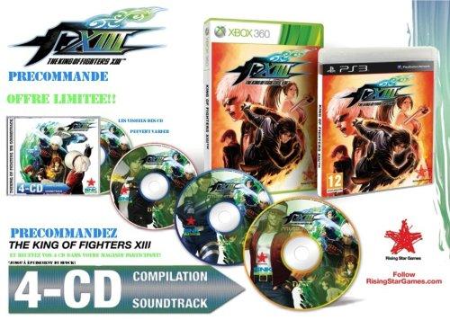 """Bande originale """"King of fighters XIII"""" - 4 CDs (article ne pouvant être vendu seul)"""