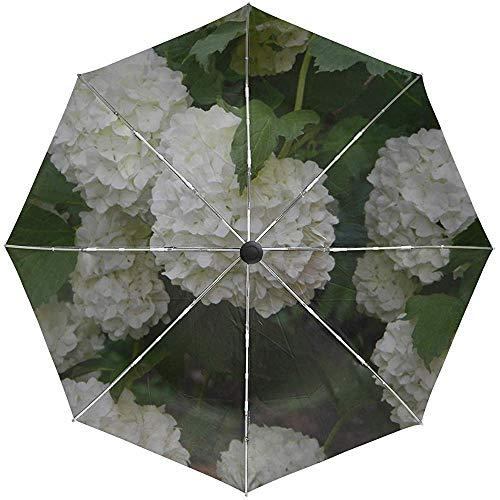 Automatische Regenschirm Sträucher Blumen Blätter Reisen Bequem Winddicht Wasserdicht Schnelltrocknend Falten Auto Öffnen Schließen