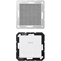 Jung - Kit monofasico Bluetooth Connect Display Altavoz Blanco Alpino