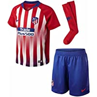 Nike 2018-2019 Atletico Madrid Home Little Boys Mini Kit