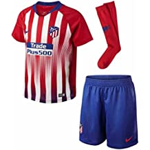 Nike 2018-2019 Atletico Madrid Home Little Boys Mini Kit 57a81ba5fc94e