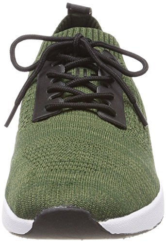 Bugatti 341305626900, Baskets Enfiler Homme Vert (Light Green)