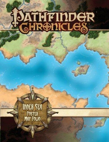 Pathfinder Chronicles: Inner Sea Poster Map Folio