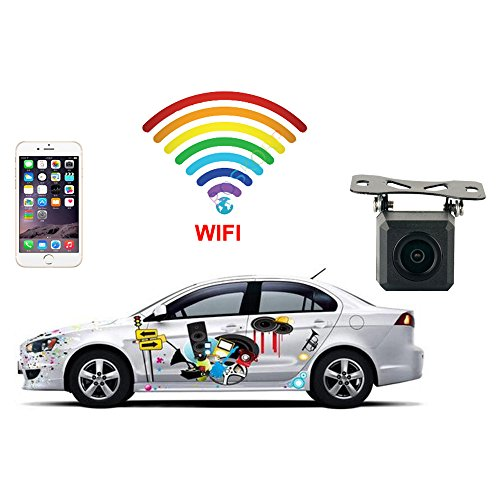 Telecamera di retromarcia wi-fi-wireless-android e ios-aiuto di parcheggio-itk technology
