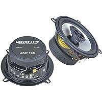 Ground Zero Lautsprecher 130mm Koax Boxen für Mercedes C-Klasse W203 00-07 Heck