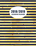 "2018/2019 Academic Planner: Essential Weekly and Monthly Schedule Diary, At A Glance Calendar Appointment Organizer with Motivational Quotes, Daily ... Size 8.5""x11"", Paperback (Academic Journals)"