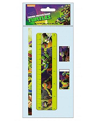 Ninja Turtles–Set Schreibwaren 4teilig (as9552)