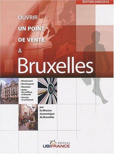 Ouvrir un point de vente à Bruxelles