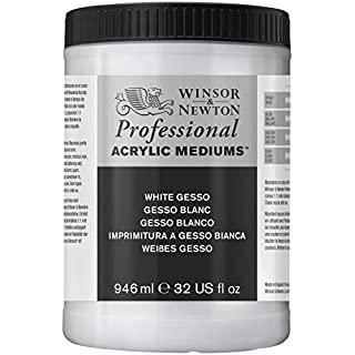 Winsor & Newton 946ml White Gesso Professional Acrylic Medium