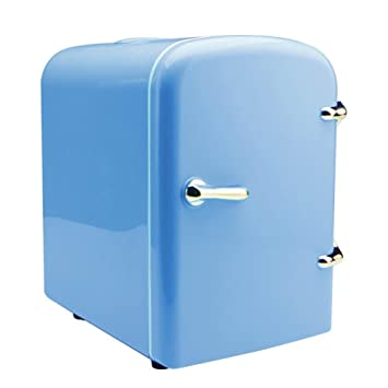 voiture rfrigrateur voiture mini frigo double usage rose bleu blue amazonfr auto et moto - Frigo Bleu
