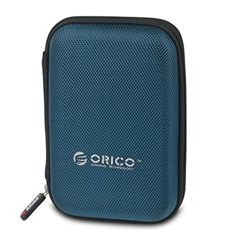 ORICO phd-256,3cm Zoll Externe Festplatte (tragbar Schutz Fall & Tasche machen in Doppel-Stoßfest Kunststoff Material