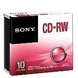 Sony CD-RW 80 5CDRW700HSD - Confezione da 10