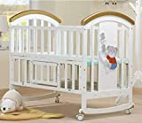 Best Convertible Cribs - BabyTeddy 9 in 1 Multifunctional Baby Crib, Ba Review