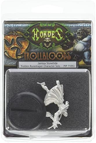 Privateer Press – – – Hordes – Trollblood : Janissa Stonetide Modèle kit bef28a
