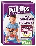Huggies Pull-Ups - Calzoncillos de aprendizaje para niños, talla M (11-18 kg), 26 calzoncillos