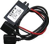 Yeeco Impermeabile 8-22V a 5V 3A / 15W Doppio Energia Adattatore DC a DC Secchio Converter Scendere Alimentazione Elettrica Modulo Auto Energia Convertitore Raddoppiare USB Cavo Connettore Auto Caricabatterie per IPhone / iPad / Nokia / HTC