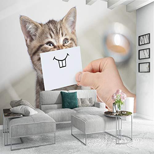 wohnzimmer Benutzerdefinierte FototapetenWände Roll Cat Eye Große Wandbilder Moderne Einfache Wohnzimmer SchlafzimmerTapetenWohnkultur Malerei-280X200CM