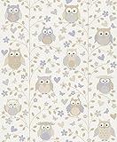 Rasch Vlies Tapete - Größe: 0,53 x 10,05 m - Farbe: creme/beige - Stil: Muster & Motive (kindgerecht)