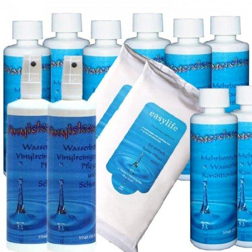 sabuy-kit-dentretien-complet-pour-matelas-eau-8-flacons-de-conditionneur-waterclean-250-ml-nettoyant