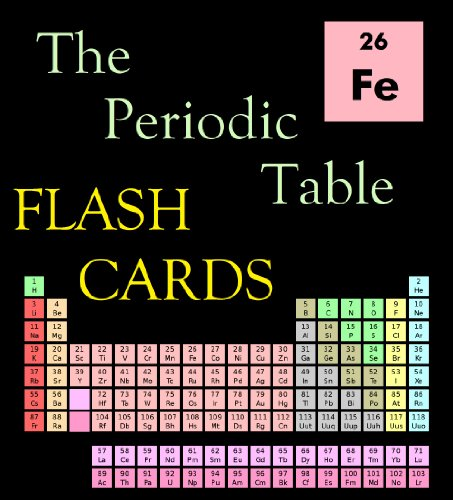 The Periodic Table Flash Cards por Edward Ross