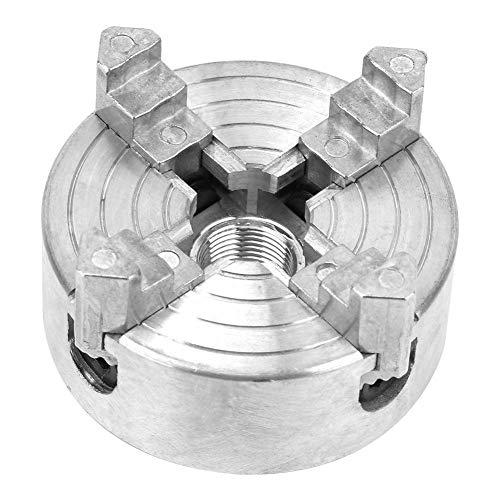 4-Jaw Torno Chuck, Torno De Madera Z011A AleacióN De Zinc 4-Jaw Chuck Abrazadera Accesorio Para Mini Torno De Metal Metal Torno Chuck