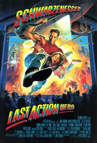 Last Action Hero Affiche du film Poster Movie Héros d'action dernier (27 x 40 In - 69cm x 102cm) Style A
