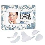 Facial Patches,Anti Aging Gesichts Anti-Falten-Patches,Stirn-Falten-Patches, Augen-Falten-Patches,Faltenbehandlung Wiederverwendbare glättende Falten-Patches