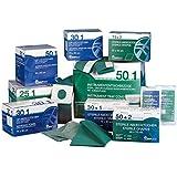 Medi Ware H290669350agujero paños, ovales orificios, 6cm x 8cm, de 2capas con fijaciones adhesivas, autoadhesiva (4unidades)