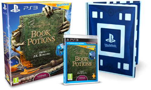 NEW & SEALED! Wonderbook Book of Potions Sony Playstation 3 PS3 Game