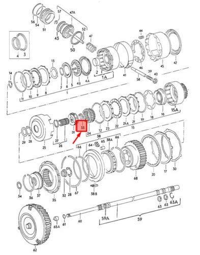 100 C3 Quantum NOS Dasher 010323340D - Rodamiento