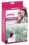 Pawise Schutznetz Katzenschutznetz Katzennetz Balkonnetz Transparent 3 x 2 Meter