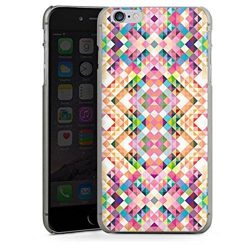 Apple iPhone 5s Housse étui coque protection Arc-en-ciel couleurs Motif CasDur anthracite clair
