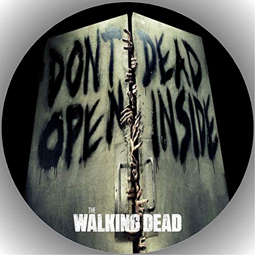 Fondant Tortenaufleger Tortenbild Geburtstag The Walking Dead T9
