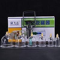 Kays Schröpfen Set 6 Vakuum-Schröpfköpfe, Therapie-Set, Schröpftherapie-Set, Vakuumpumpen-Magnete Biomagnetische... preisvergleich bei billige-tabletten.eu