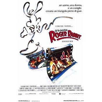 Who Framed Roger Rabbit Poster Movie Italian 11 x 17 In - 28cm x ...