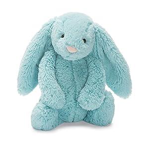 Jelly Cat- Peluche Bashful Aqua Bunny, (Jellycat BAS3AQ)