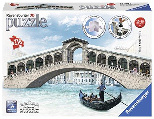 Ravensburger-12518-Rialtobrcke-3D-Puzzle Ravensburger 12518 – Rialtobrücke – 3D Puzzle -