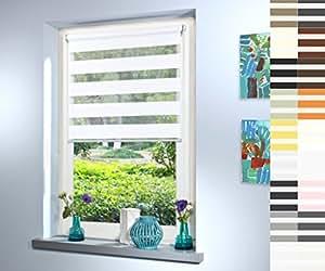doppelrollo nach ma hochqualitative wertarbeit alle gr en und 18 farben verf gbar inkl. Black Bedroom Furniture Sets. Home Design Ideas