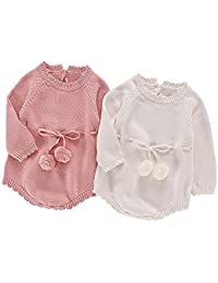 POLP Niño Invierno Camiseta de Manga Larga para niños Otoño Invierno Mameluco de Punto Bebe Niña Pulóver Camisa de Fondo Jersey…