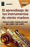 El aprendizaje de los instrumentos de viento madera: Técnicas de estudio y ejercicios para flauta, oboe, clarinete, fagot, saxofón... (Taller de música)