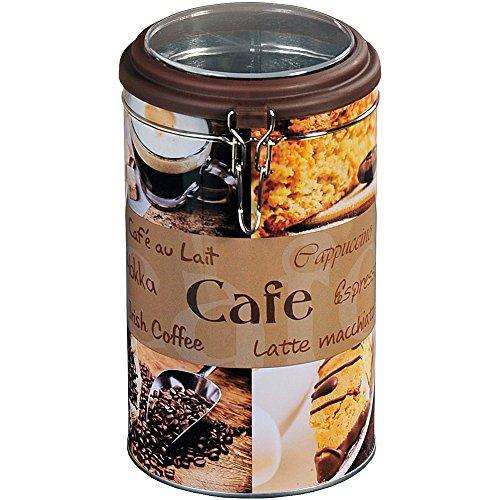Kesper 38202 Aufbewahrungsdose für Kaffee, rund 19 cm hoch