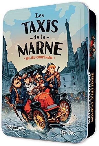 Asmodee - TAX01 - Jeu d'ambiance - Les Taxis de La Marne