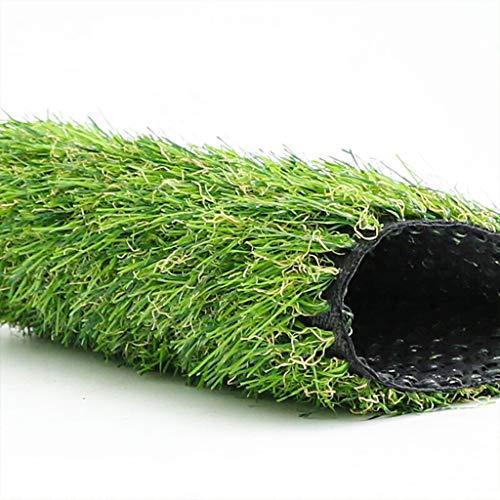 YUER Premium-Kunstrasen aus synthetischem Gras, 20 mm Haufen, 3 Stück, natürlich und realistisch aussehender Garten-Hunderasen (Size : 2x0.5) -