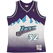 Mitchell & Ness Karl Malone # 32 Utah Jazz 1996 – 97 Swingman NBA ...