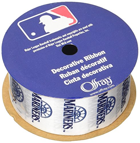 Offray MLB Seattle Mariners Stoff Band, 1-5/40,6 cm X 9 ft