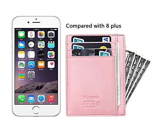 flintronic® Portia Carte di Credito e Tasche Pelle, RFID/NFC Blocco Portafoglo